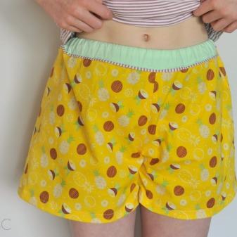 pyjama shortje